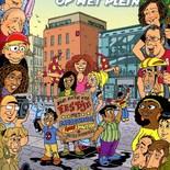 allemaal op het plein (strip)