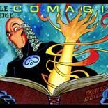 stille getuige in comagie (strip)