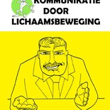 communicatie door lichaamsbeweging (illustraties)