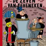 de Zeven van Zeveneken - luxe heruitgave ( cover inkt en inkleuring.)